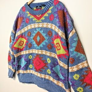 Structure Vintage Navajo Sweater